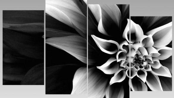 Pretty Design Black And White Abstract Wall Art Or Manjuzaka For Black And White Abstract Wall Art (Image 15 of 20)