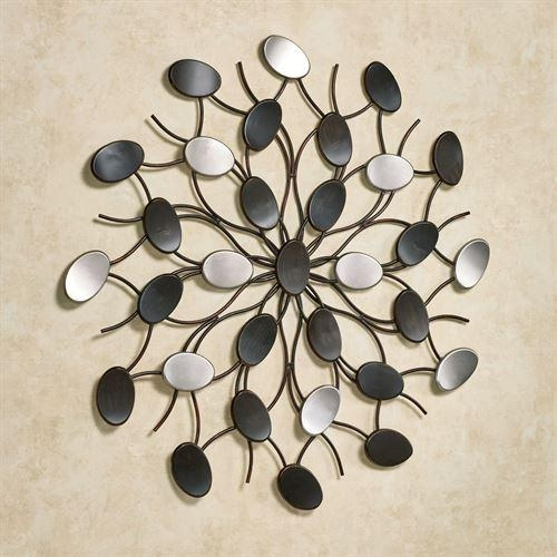 Radiant Petals Abstract Metal Wall Art Intended For Abstract Metal Wall Art (View 9 of 20)