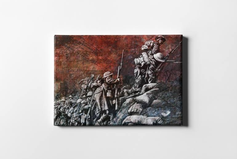Saatchi Art: Remembrance Day Art Original Limited Edition Canvas Pertaining To Limited Edition Canvas Wall Art (View 18 of 20)