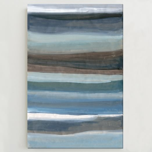 Sarah Campbell Wall Art – Oversized Abstract Waves | West Elm Within West Elm Abstract Wall Art (Photo 8 of 15)