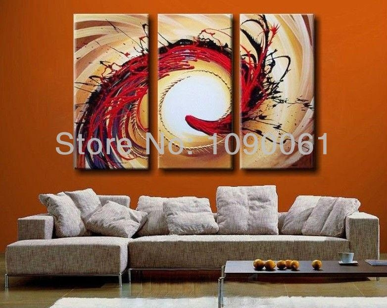 Science Fiction,hand Painted Abstract Acrylic Paintings On Canvas Pertaining To Abstract Buddha Wall Art (Image 17 of 20)