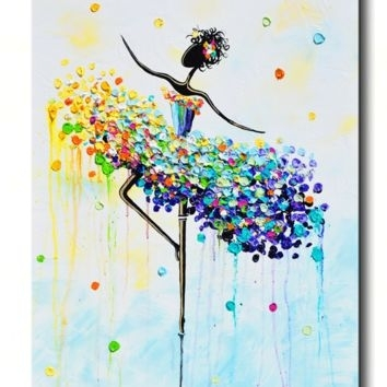 Shop Colorful Abstract Wall Art On Wanelo Throughout Colourful Abstract Wall Art (View 15 of 15)