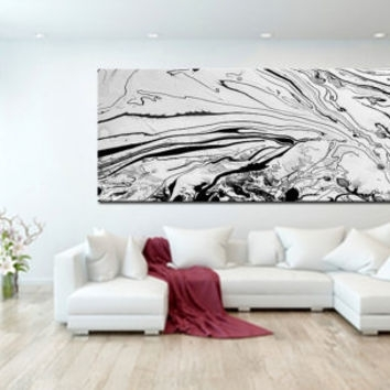 Shop Extra Large Abstract Canvas Art On Wanelo With Extra Large Abstract Wall Art (Image 14 of 15)