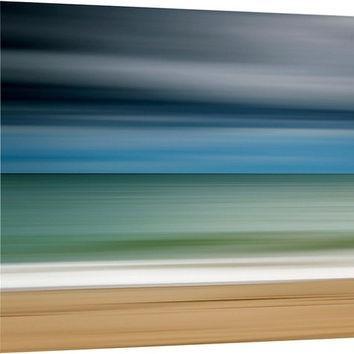 Shop Large Abstract Ocean Canvas Art On Wanelo Regarding Abstract Beach Wall Art (View 5 of 20)