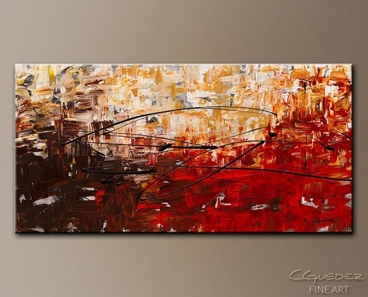 Textured Abstract Painting Grand Vision – Buy Canvas Art Paintings Throughout Black And Gold Abstract Wall Art (Image 20 of 20)