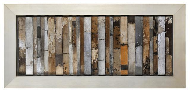 "Urban Abstract Wall Art, 49""x22"" Rustic Fine Art Prints Within Inside Abstract Wall Art Prints (Image 16 of 20)"