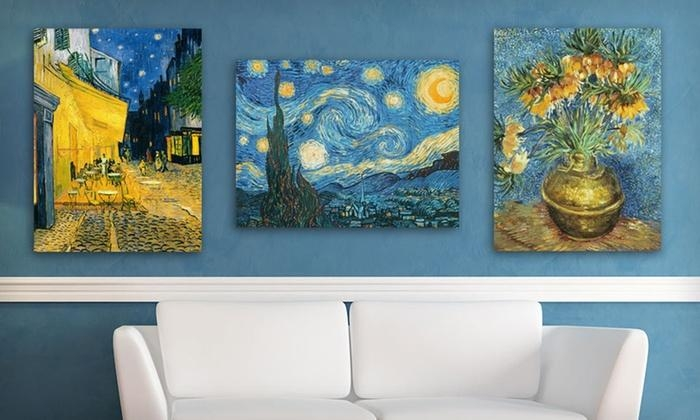 Van Gogh Canvas Art Print | Groupon Goods Regarding Vincent Van Gogh Wall Art (Image 17 of 20)