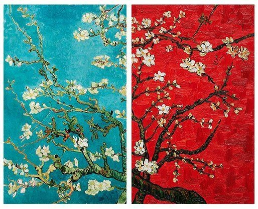Van Goght Almond Blossoms | Impressionism | Pinterest | Van Gogh Pertaining To Almond Blossoms Vincent Van Gogh Wall Art (Image 16 of 20)