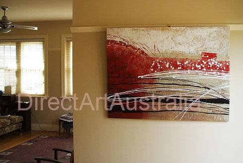 View & Buy Finished Framed Oil Paintings & Portraits Online Throughout Abstract Wall Art Australia (View 17 of 20)