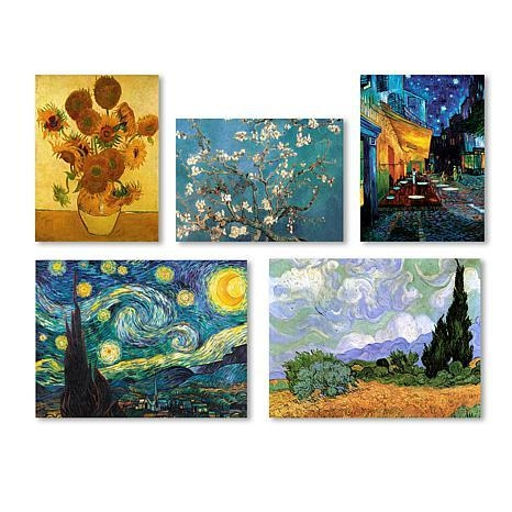 Vincent Van Gogh Wall Collection'' Multi Panel Art Collection Intended For Vincent Van Gogh Wall Art (View 15 of 20)