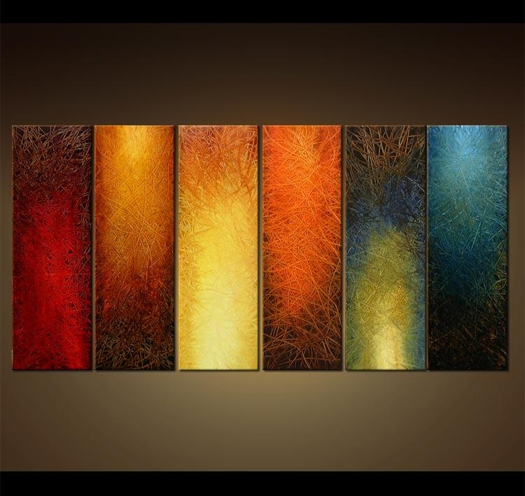 Wall Art: Abstract Wall Art To Decor Your Home Abstract Wall Art Intended For Blue And Brown Abstract Wall Art (View 15 of 20)