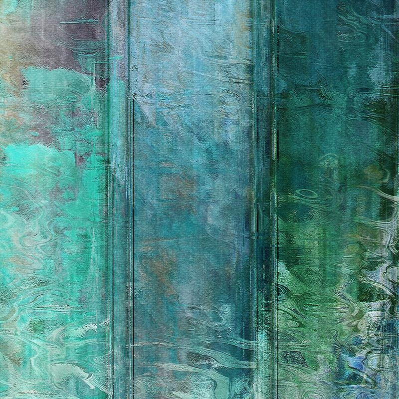 Wall Art Decor: Living Water Abstract Wall Art For Sale Peaceful With Aqua Abstract Wall Art (Image 17 of 20)