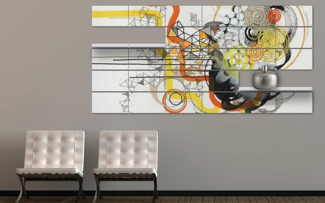Wall Art Decor: Riveli Unique Office Wall Art Modern Contemporary Within Abstract Wall Art For Office (View 12 of 15)