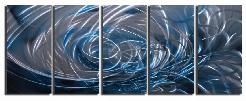 Wall Art Design Ideas: Copper And Aluminium Wall Art Metal Head In Abstract Aluminium Wall Art (Image 16 of 20)
