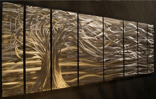 Wall Art Design Ideas: Modern Classic Aluminium Wall Art Theme Regarding Abstract Aluminium Wall Art (View 5 of 20)