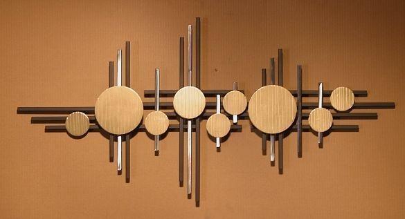 Wall Art Design Ideas: Pinterest Abstract Metal Wall Art Sculpture For Abstract Metal Wall Art (Image 17 of 20)
