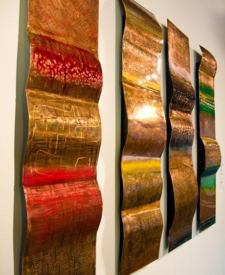 Wall Art Design: Rustic Outdoor Copper Wall Art, Artists Who Work For Abstract Copper Wall Art (Image 15 of 20)