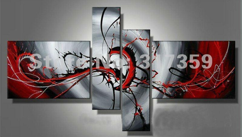 Wall Art Designs: Abstract Canvas Wall Art Canvas Art Abstract Oil In Acrylic Abstract Wall Art (View 11 of 20)