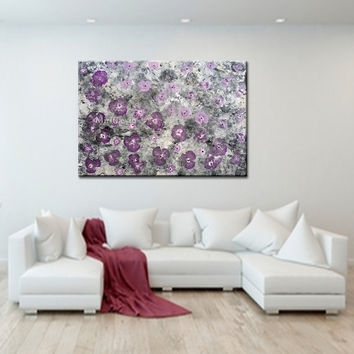 Wall Art Designs: Abstract Canvas Wall Art Ideas For Home Decor For Abstract Floral Canvas Wall Art (View 3 of 15)