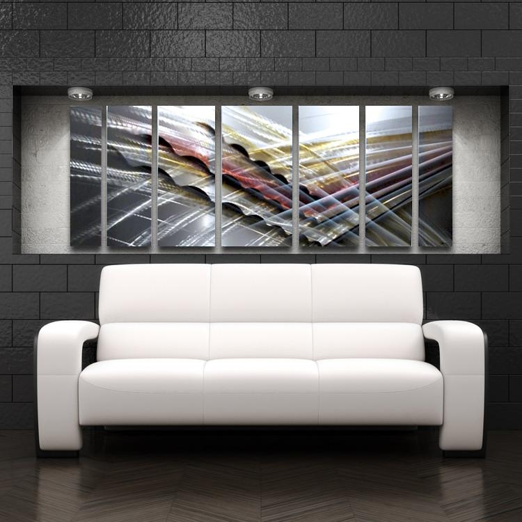 Wall Art Designs: Abstract Metal Wall Art Abstract Wall Art Panels With Abstract Aluminium Wall Art (Image 18 of 20)