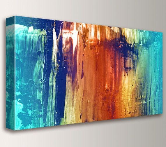 Wall Art Designs: Abstract Wall Art Modern Abstract Art Painting For Bright Abstract Wall Art (View 19 of 20)