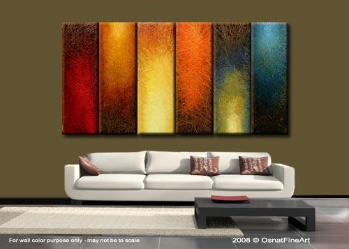 Wall Art Designs: Arge Abstract Wall Art Mdoern Artwork Thumbnail Regarding Brown Abstract Wall Art (Photo 17 of 20)