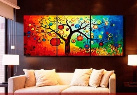 Wall Art Designs: Awesome Colorful Wall Art, Colorful Wall Art And Intended For Colourful Abstract Wall Art (Image 11 of 15)