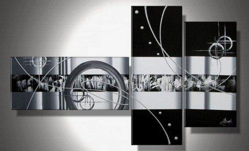 Wall Art Designs: Black And White Canvas Wall Art Abstract Wall Regarding Black And White Abstract Wall Art (Image 18 of 20)