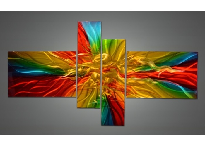Wall Art Designs: Colorful Wall Art Colorful Abstract Painting On With Colourful Abstract Wall Art (View 12 of 15)