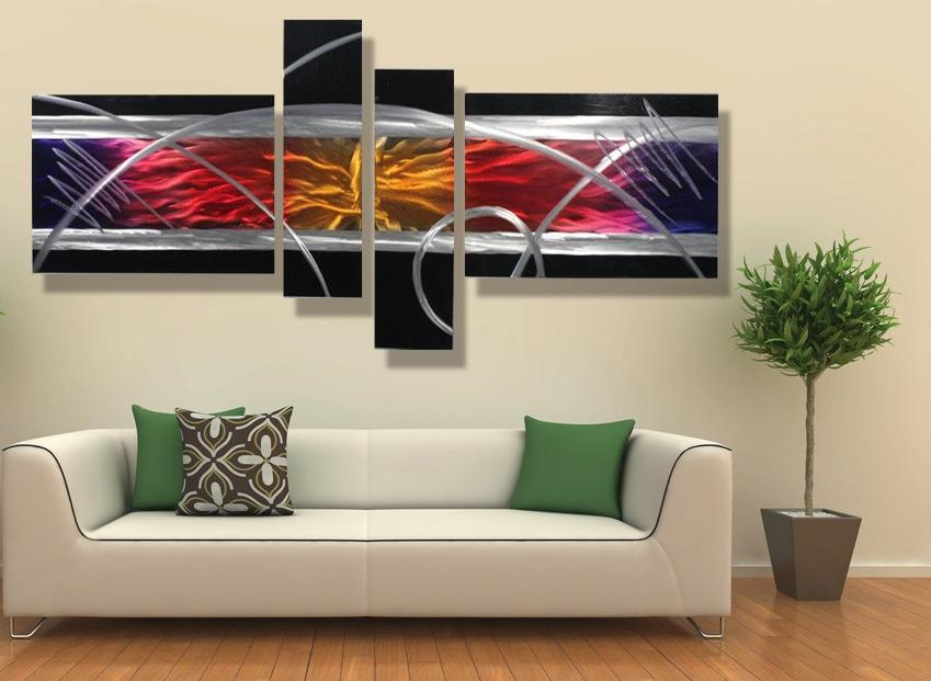 Wall Art Designs: Contemporary Wall Art Decor Bedroom Metal Modern Within Abstract Wall Art For Bedroom (Image 16 of 20)