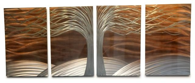 Wall Art Designs: Copper Wall Art Modern Wall Decor Abstract Wall With Regard To Abstract Copper Wall Art (View 7 of 20)