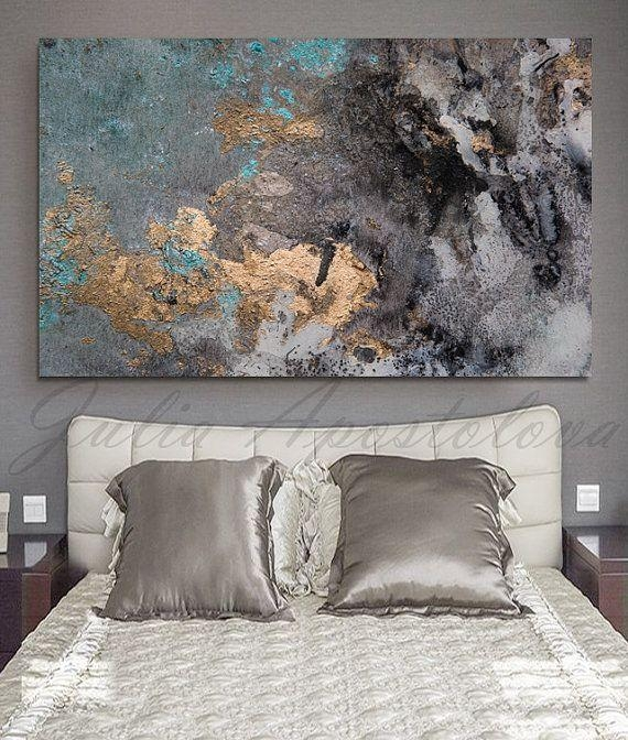 Wall Art Designs: Large Abstract Wall Art Abstract Aquarell Print With Regard To Abstract Wall Art For Bedroom (Image 17 of 20)