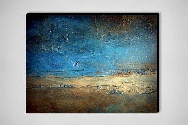 Wall Art Designs: Large Abstract Wall Art Wall Art Design Large Intended For Blue And Brown Abstract Wall Art (View 2 of 20)