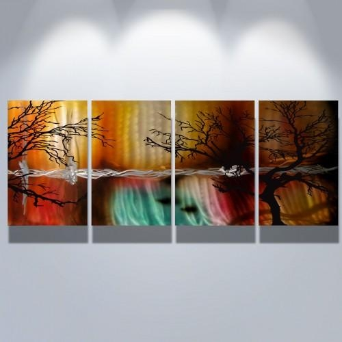 Wall Art Designs: Modern Abstract Wall Art Metal Wall Art Abstract Intended For Contemporary Abstract Wall Art (Image 19 of 20)