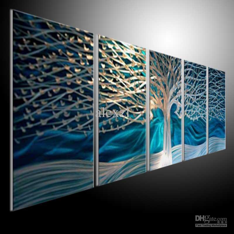 Wall Art Designs: Modern Sculpture Cheap Contemporary Wall Art Inside Abstract Aluminium Wall Art (Image 20 of 20)