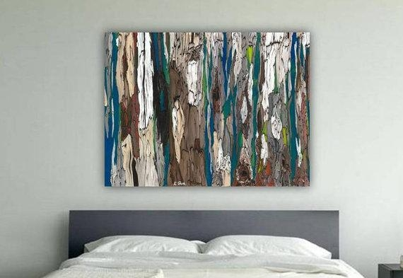 Wall Art Designs: Popular Large Wall Art Decor For Unique Ideas Intended For Abstract Wall Art For Bedroom (Image 19 of 20)