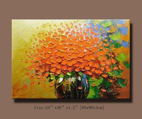 Wall Art Designs: Wall Art For Home Abstract Wall Painting Impasto In Acrylic Abstract Wall Art (View 13 of 20)