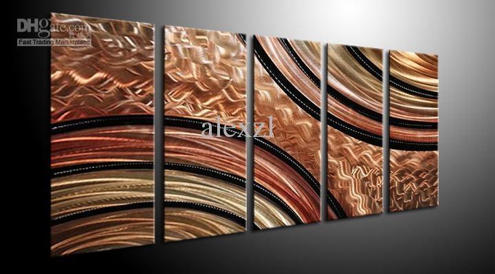 Wall Art Ideas Design : Brown Absolute Metal Wall Art Abstract For Abstract Angkor Swirl Metal Wall Art (View 7 of 20)