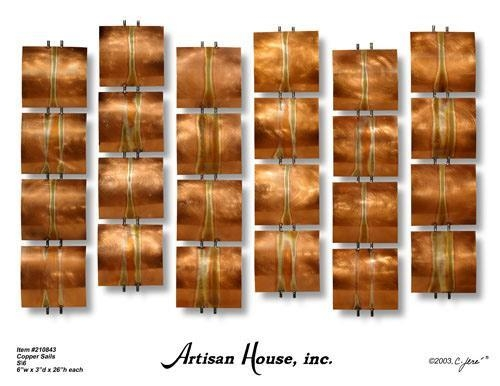 Wall Art Ideas Design : Sculpture Styles Copper Wall Art Steadily Regarding Abstract Copper Wall Art (Image 20 of 20)