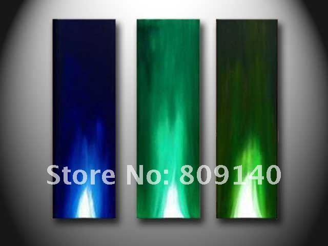 Wall Art: Lastest Ideas Blue And Green Wall Art Blue And Green Regarding Blue Green Abstract Wall Art (Image 19 of 20)