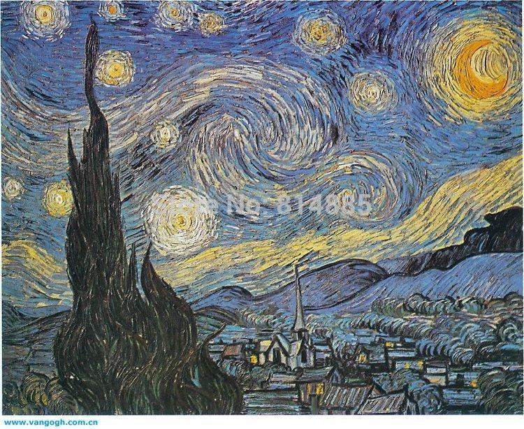 Wall Art: Top 10 Sample Ideas Van Gogh Wall Art Vincent Van Gogh Throughout Vincent Van Gogh Wall Art (View 16 of 20)