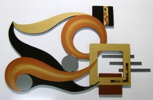 Wall Art: Top Ten Galleries Unique Metal Wall Art Quality Wall Art Pertaining To Sculpture Abstract Wall Art (Image 19 of 20)