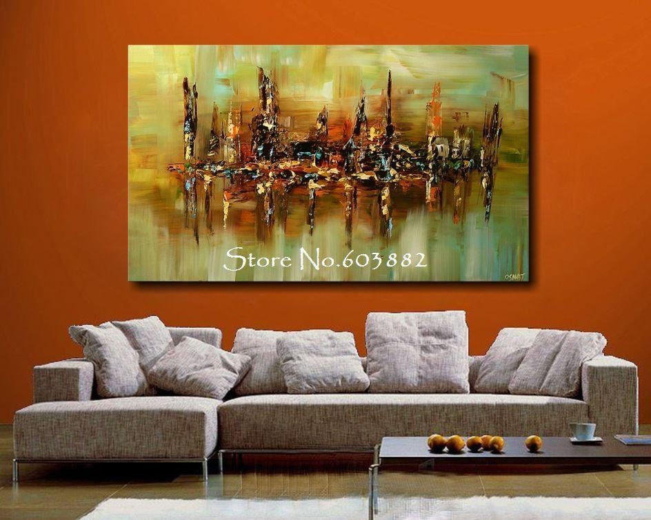 Wall Art: Top Ten Gallery Abstract Canvas Wall Art Abstract Inside Big Abstract Wall Art (View 13 of 20)