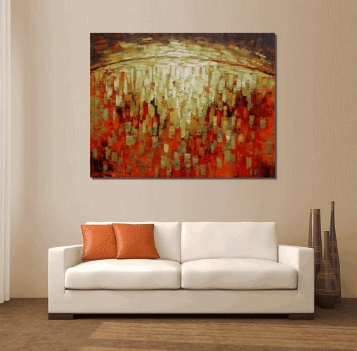 Wall Arts ~ Abstract Canvas Art Australia Abstract Circle Canvas Pertaining To Abstract Canvas Wall Art Australia (Image 13 of 20)