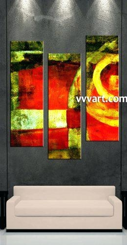 Wall Arts: Abstract Canvas Wall Art (Image 20 of 20)