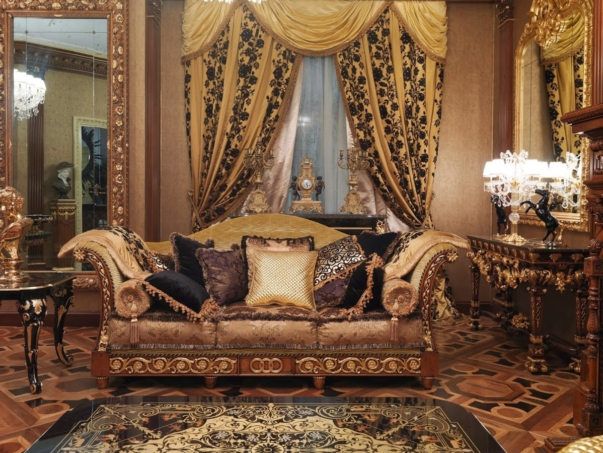 1 Empire Style High End Sofa. Handmade In Europe (View 4 of 10)