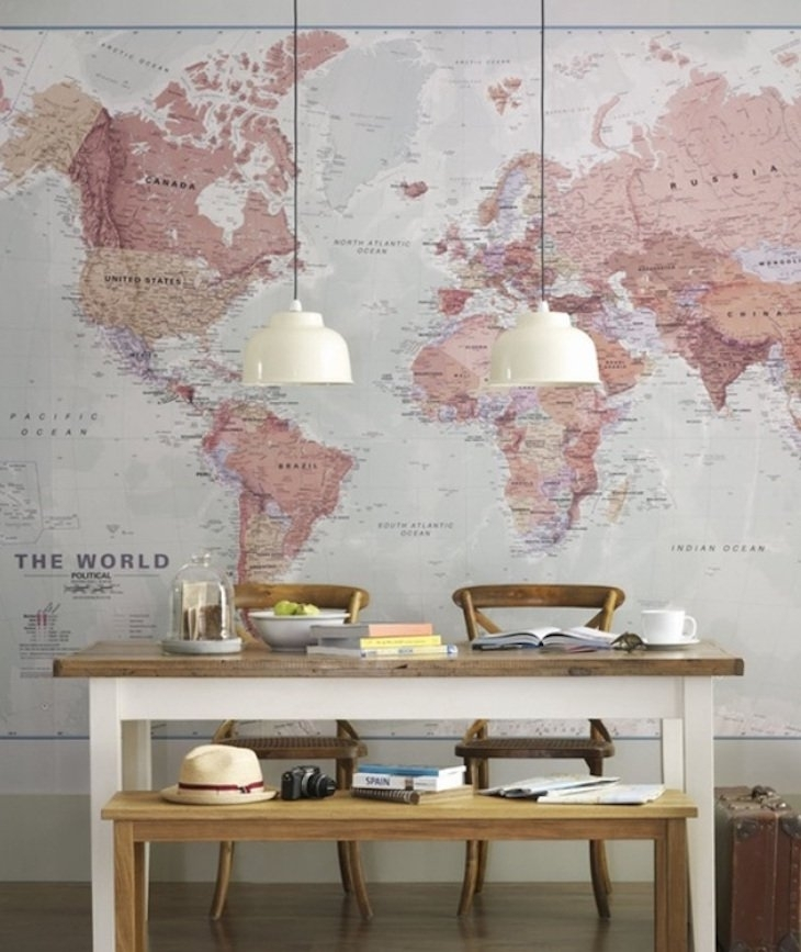 10 Accent Wall Ideas – The Best Diy Projects For Your Home Regarding Wallpaper Wall Accents (Image 1 of 15)