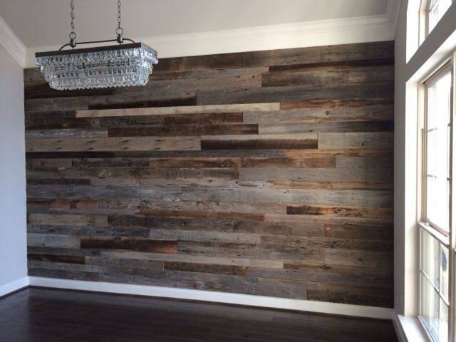 10+ Awesome Accent Wall Ideas Can You Try At Home | Woods, Walls for Reclaimed Wood Wall Accents