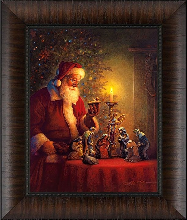 10 Best Christmas Framed Art For Home Images On Pinterest Intended For Christmas Framed Art Prints (View 11 of 15)