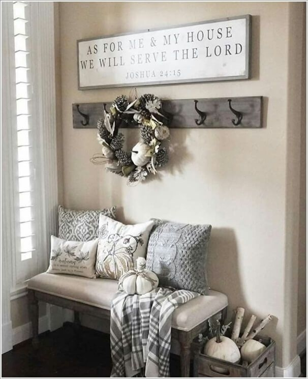 10 Chic Ways To Decorate Your Entryway Wall 2 | For The Home Throughout Entrance Wall Accents (View 13 of 15)